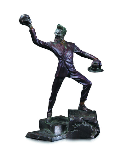 joker patina mini resin statue
