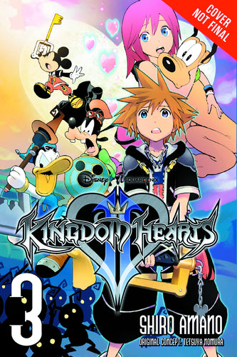 Kingdom Hearts II TP Vol. 3