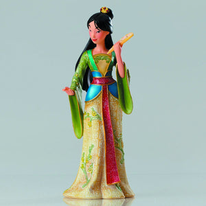 Disney Showcase Mulan Couture De Force 8 Inch Resin Figure