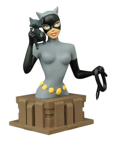 Batman The Animated Series Catwoman 6 Inch Resin Bust
