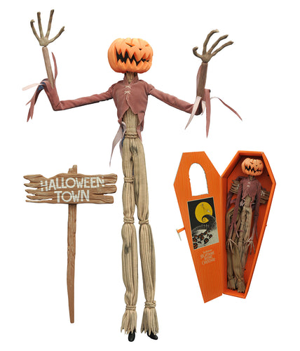 NBX Pumpkin King Jack Coffin 16 Inch Poseable Doll