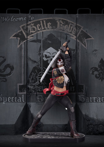 Suicide Squad Movie Katana Statue