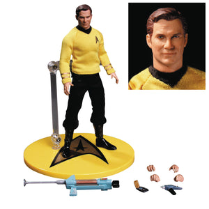 Mezco Toys One-12 Collective Star Trek Kirk Action Figure