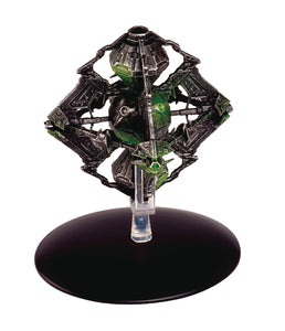 Star Trek Starships Fig Mag #109 Borg Queen Ship