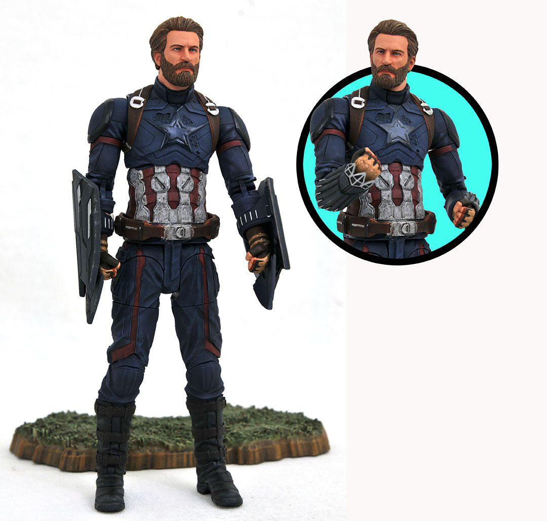 Marvel Select Avengers 3 Captain America 7 Inch Action Figure
