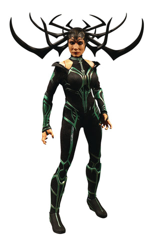 Mezco Toys One-12 Collective Marvel Thor Ragnarok Hela Action Figure