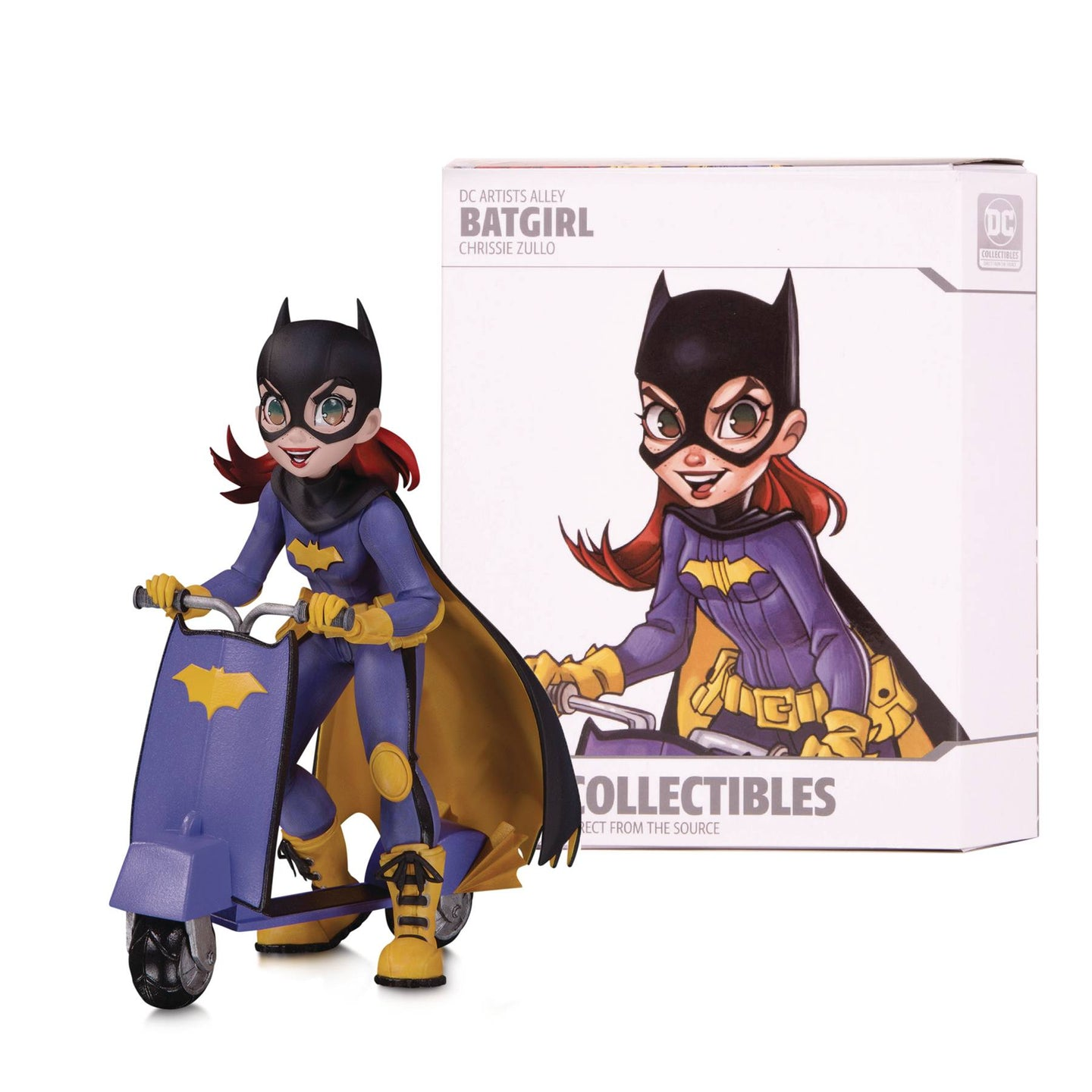 DC Artists Alley Batgirl By Zullo 7 Inch Color Vinyl Fig