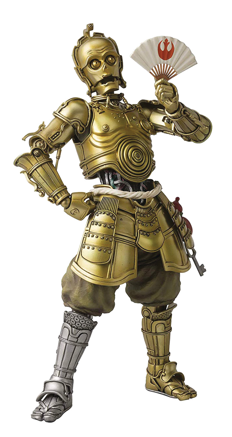 Star Wars Honyaku Karakuri C-3PO Meisho Movie Realization Action Figure
