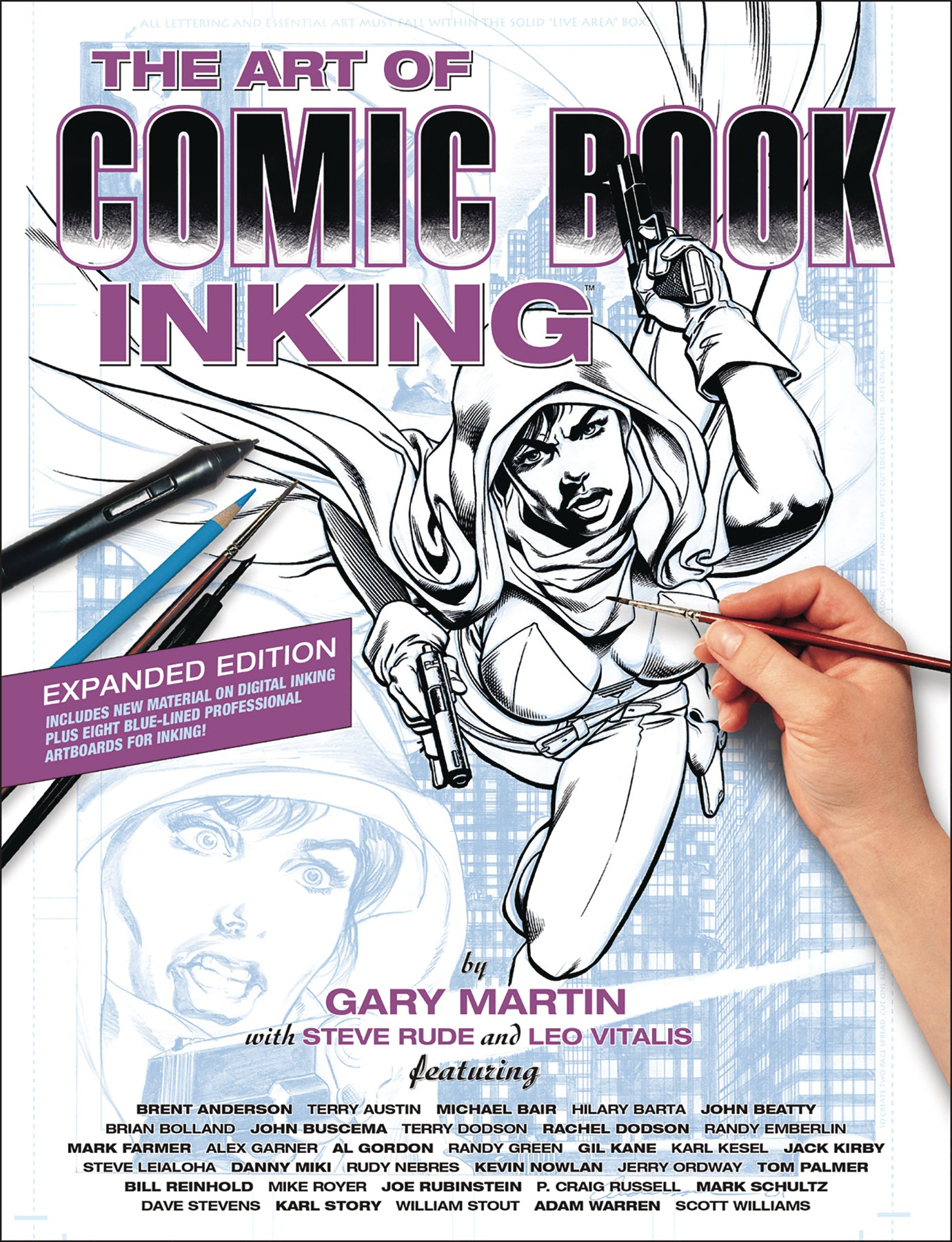Art of Comic Book Inking Soft Cover 3rd Edition