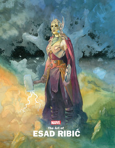 Marvel Monograph Art Of Esad Ribic Trade Paperback