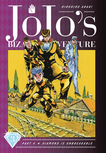 Jojos Bizarre Adv 4 Diamond Is Unbreakable Hardcover Vol 3