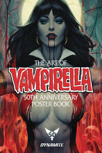 "Vampirella 50th Anniversary Poster Collection 12""X16"" card stock poster sheets"