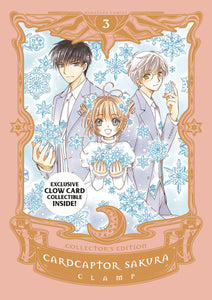 cardcaptor sakura collected edition hardcover volume 3 book