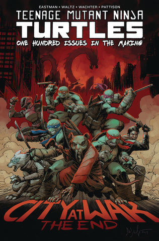 tmnt ongoing #100 deluxe hardcover book