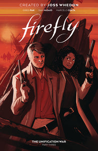 firefly unification war 3 hardcover book