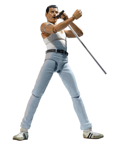 Queen Freddie Mercury Live Aid S.H.Figuarts Action Figure