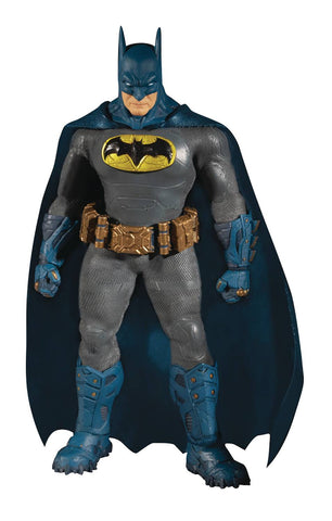 One-12 Collective DC Supreme Knight Batman Blue PX Action Figure in collectible tin