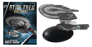 Star Trek Discovery Fig Mag #27 USS Zimmerman NCC-1616