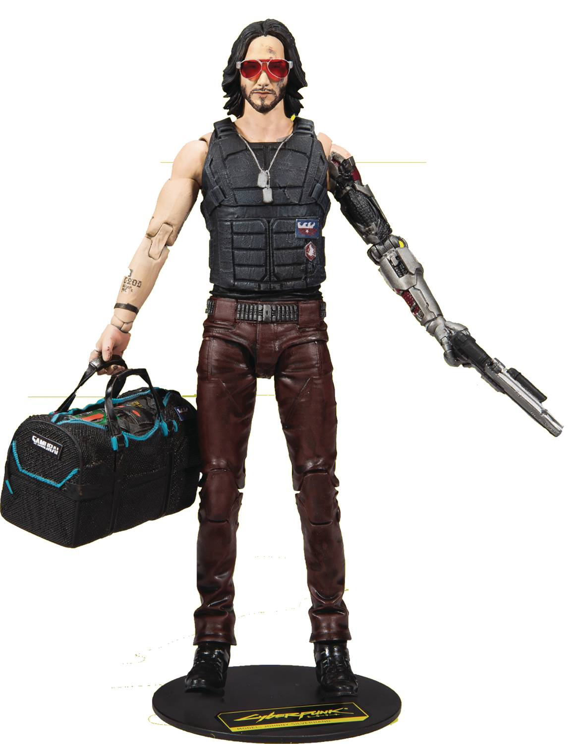 Cyberpunk 2077 Wave 2 Johnny 7 Inch Action Figure