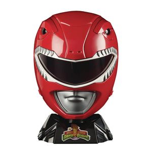 Power Rangers Lightning MMPR Red Ranger Cosplay Helmet