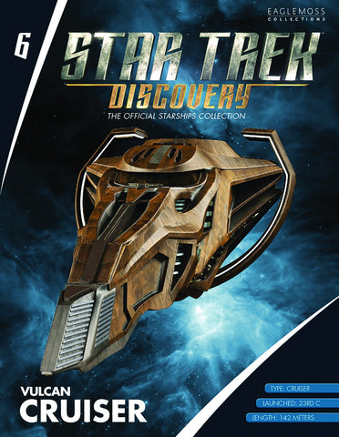 Star Trek Discovery Vulcan Cruiser Starship Collection #6