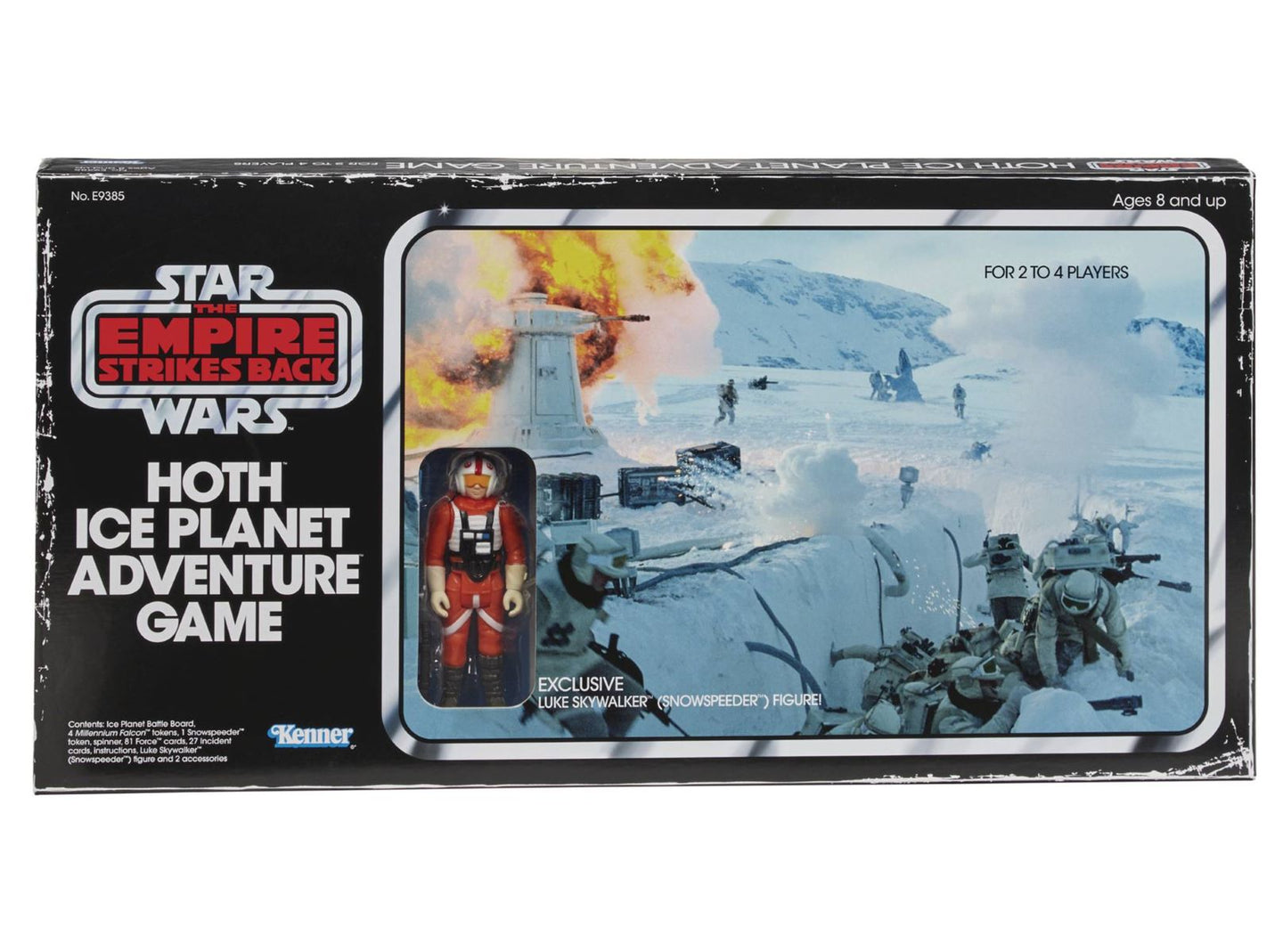 Star Wars Hoth Ice Planet Retro Game