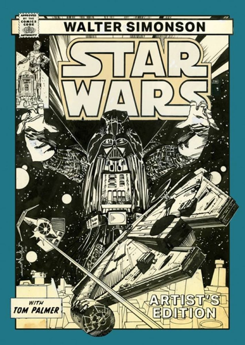 Star Wars Walter Simonson Artists Edition Extra-Large Hardcover
