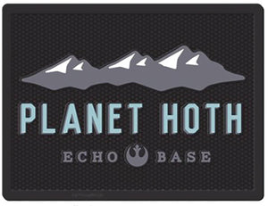Star Wars Planet Hoth Echo Base Welcome Mat