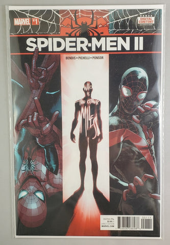 Spider-Men II #1 comic first printing