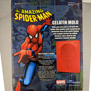 Amazing Spider-Man Gelatin Mold for desserts and jello!