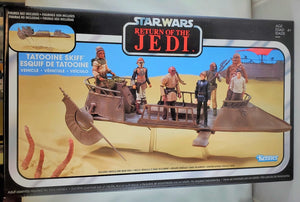 Star Wars Vintage Tatooine Skiff Vehicle