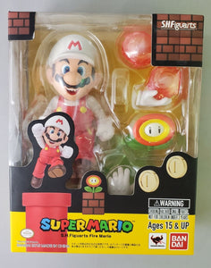 Super Mario Brothers Fire Mario S.H.Figuarts Action Figure