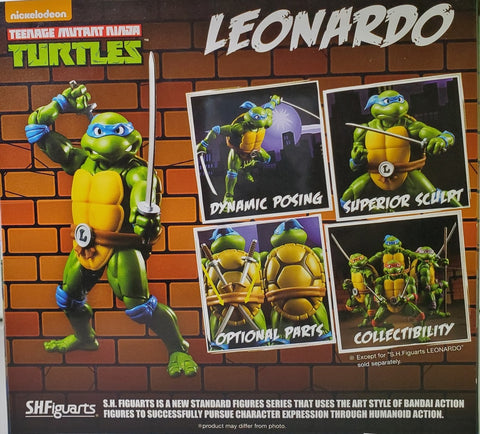 TMNT Teenage Mutant Ninja Turtles Leonardo by S.H. Figuarts Figure