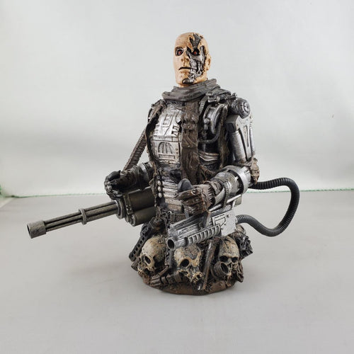 Terminator Salvation T-600 6 Inch Resin Bust