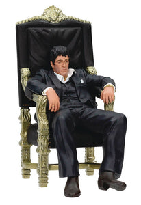 Scarface Tony Montana on Throne 7 Inch Action Figure