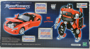 Transformers Alternators #02 Sideswipe - Dodge Viper 2003