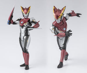 Ultraman R/B Ultraman Rosso Flame S.H.Figuarts 6 Inch Action Figure