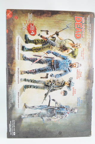 Walking Dead Carl/Abraham 2pc Figure Set