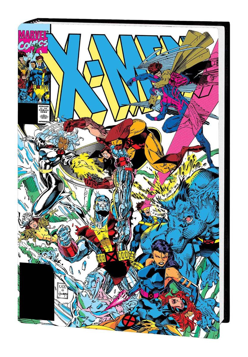 X-Men XXL By Jim Lee Hardcover