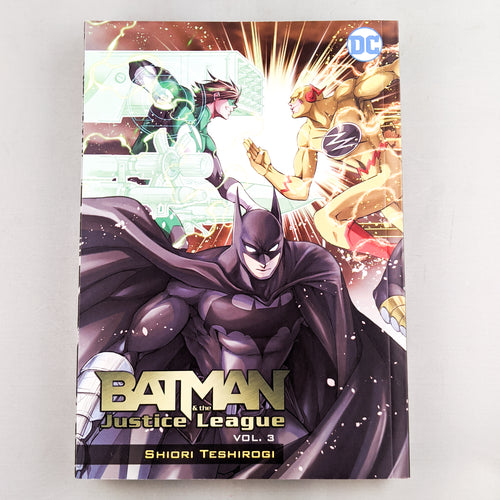 Batman & The Justice League Manga volume 3 by Shiori Teshirogi