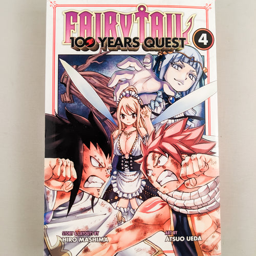 Fairy Tail 100 Years Quest Vol. 4