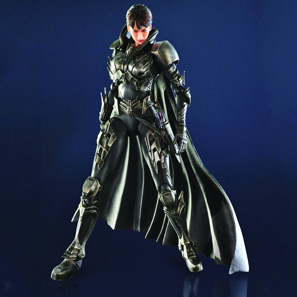 Faora-ul Man Of Steel Play Arts Kai Figure