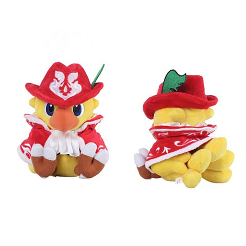 Final Fantasy Chocobo Red Mage Plush
