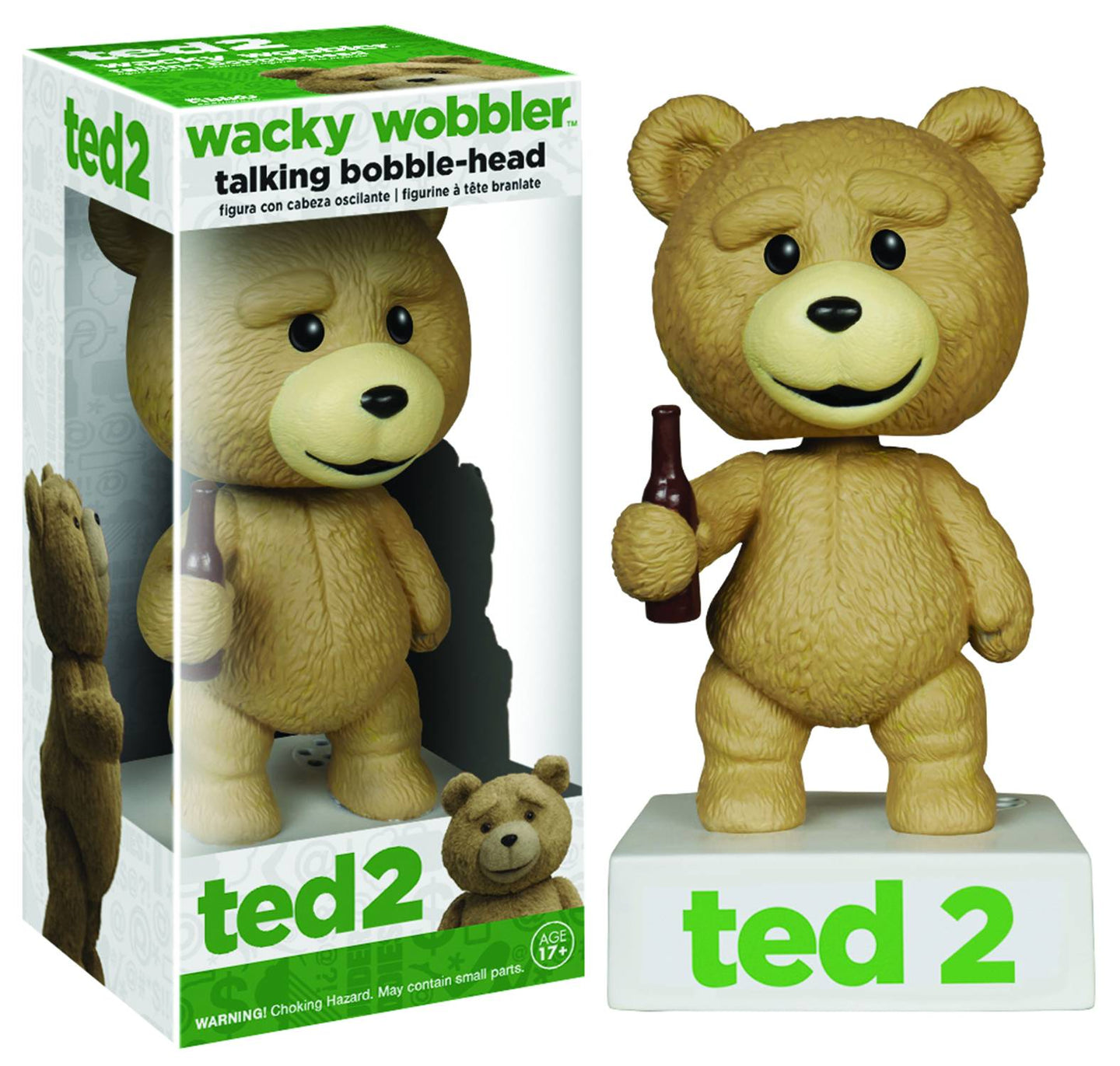 Ted 2 Talking Wacky Wobbler Vinyl Figure