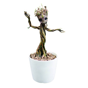 guardians of the galaxy baby groot motion statue