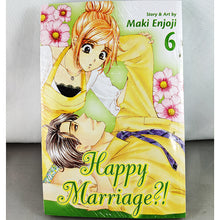 Front cover of Happy Marriage?! Volume 6. Manga by Maki Enjoji.
