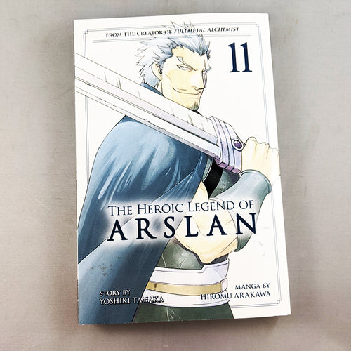 The Heroic Legend of Arslan Volume 11. Manga by Yoshiki Tanaka and Hiromu Arakawa