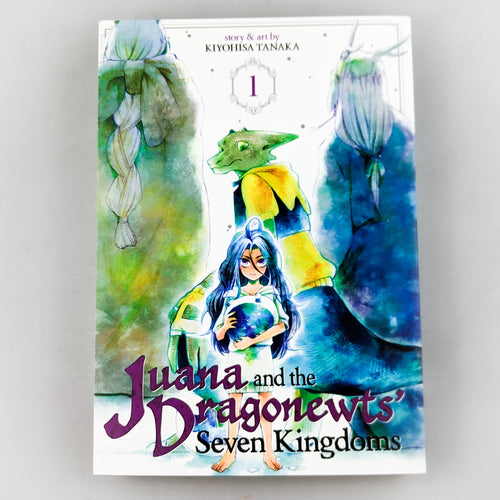 Juana and the Dragonewts' Seven Kingdoms Volume 1 Manga by Kiyohisa Tanaka