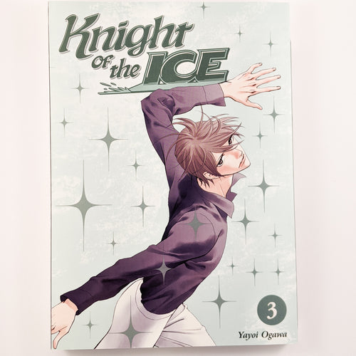 Knight of the Ice Volume 3. Also known as Skating Rink Knight / Ginban Kishi. Manga by Yayoi Ogawa.