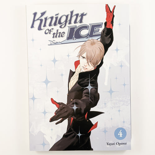 Knight of the Ice Volume 4. Also known as Skating Rink Knight / Ginban Kishi. Manga by Yayoi Ogawa.